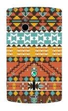 label pepper Designfolie Handy Skin für Sony Xperia mini Pro - Navajo (Lieferumfang = Skin für Vorder- und Rückseite)