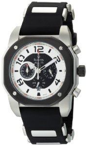 Bulova ブローバ Men's 98B139 Marine Star Black Dial Watch 男性用 メンズ 腕時計 【並行輸入】