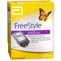 FreeStyle InsuLinx Blood Glucose Monitoring System – 1 Kit