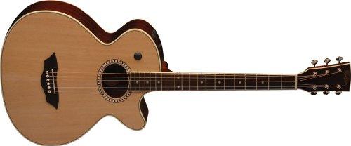 Washburn Baby Jumbo Series WB200SCEK Acoustic-Electric Guitar