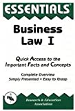 img - for Business Law I Essentials Publisher: Research & Education Association book / textbook / text book