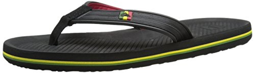 quiksilver-mens-haleiwa-deluxe-3-point-sandal-black-red-green-11-m-us