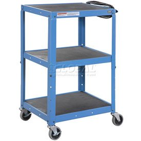 Blue Steel Audio Visual & Instrument Cart