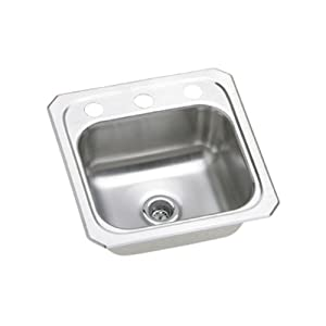Elkay BCR151 Gourmet Celebrity Sink, Stainless Steel