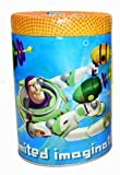 Round Coin Bank - Disney - Toys Story - Buzz Lightyear Tin Box New 825207-1