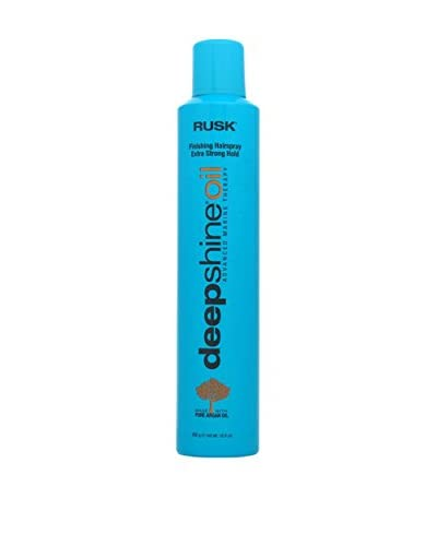 Rusk Deepshine Oil Finishing Hairspray Extra Strong Hold, 10.6 oz.