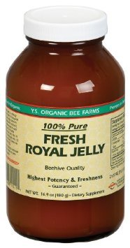 YS Organic Bee Farms - Fresh Royal Jelly 480000 mg. - 16.9 oz.