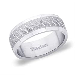 Peora Ring For Men Silver-TR108-8