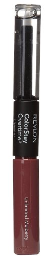 Revlon Colorstay Overtime Lipcolor, Unlimited Mulberry, 0.07 Ounce