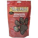 Real Meat Venison Jerky Dog Treats