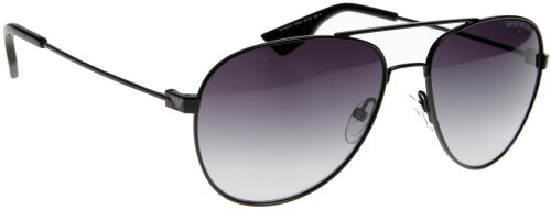 Emporio Armani Men's 9624 Shiny Black Frame Sunglasses