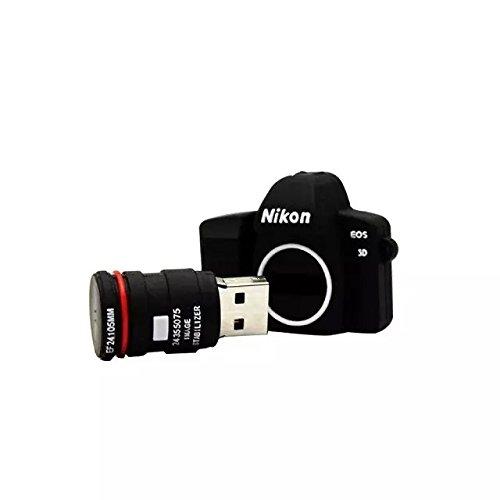 IT Mall High Quality 16GB MINI Nikon Camera Designed USB 2.0 Flash Memory Stick Pen Drive(suit for Chritmas present)