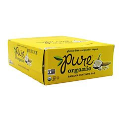 Promax Pure Bar Organic 12 - 1.7 oz  [20.4 oz Bars Banana Co
