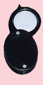 SEOH Magnifying Glass Pocket Folding Single Lens 5x - 1