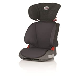 Britax Adventure Group 2/3  4 - 12 Years High-Backed Booster Car Seat (Black Thunder)