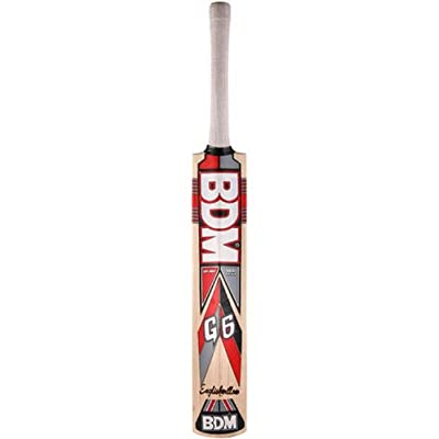 BDM G6 English Willow Cricket Bat, Short Handle