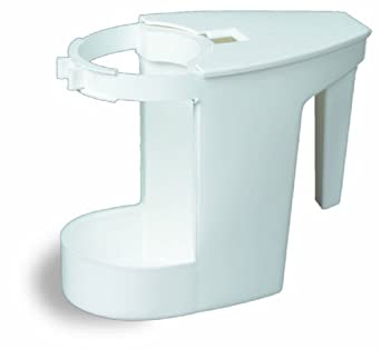 Continental 780 White Sanitary Caddy for Bowl Mop