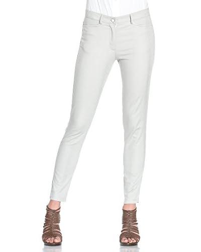 Orna Farho Pantalone [Bianco/Oro]