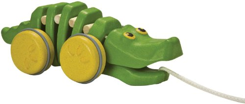 Plan-Toys-Preschool-Dancing-Alligator-Pull-Along-Toy