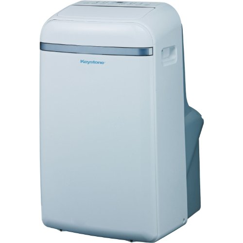 "Keystone KSTAP14B 14, 000 BTU Portable Air Conditioner with ""Follow Me"" LCD Remote Control, 115-volt"