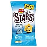 Walkers Baked Stars Cheese & Onion Crisps 6 X 25G