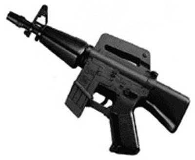 UHC M16 Mini Electric Machine GunB0006H186M