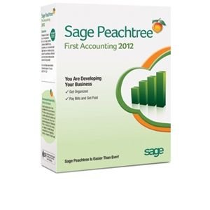 Sage Peachtree First Accounting 2012 Software
