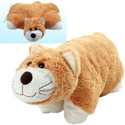 Cuddlee Pet Pillow - Cat Cuddlee Pets Are Excellent Companions for Long Trips or Vacations and Always Provide Kids with a Cuddly Buddy and a Comfortable Place to Lay Their Head
