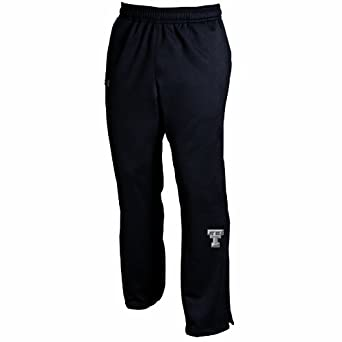 NCAA Texas Tech Red Raiders Unisex Adult Lifestyle Sueded Armour Fleece Pant by Under Armour