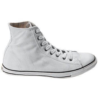 7dec09ebab415c Converse Chuck Taylor All Star Low Profile Hi Top John Varvatos White  Canvas Shoes 109091