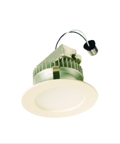 American Lighting Ld4-E26-30-Wh White Recessed Led Ceiling Light Fixture, 4-Inch