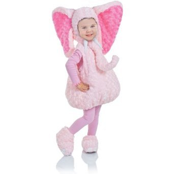 Underwraps Baby's Elephant Belly-Babies, Pink, Large