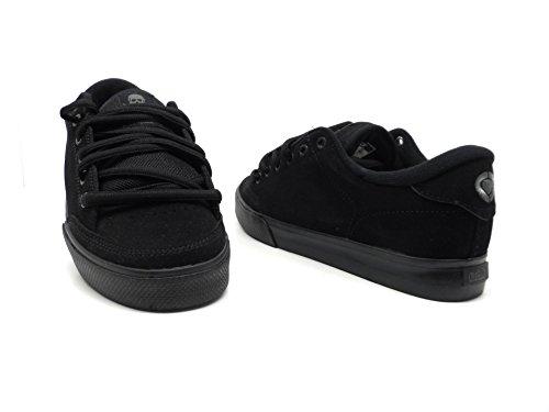 C1RCA Men's Lopez 50 Skate Shoe,Black/Black,8 M US