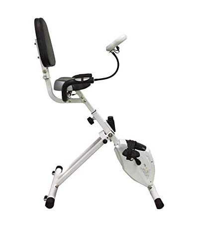Halley Fitness Bicicleta Plegable Fb100 Blanco / Gris