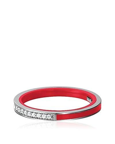 Esprit Anillo Marin Silver Glam Red Plata