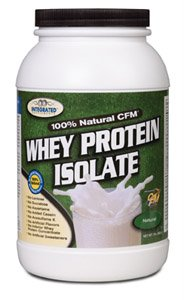 Integrated Supplements 100% Natural CFM Whey Protein Isolate 2lb- unflavored