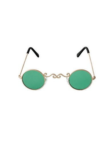 Pot of Gold Glasses Costume Accessory - 1