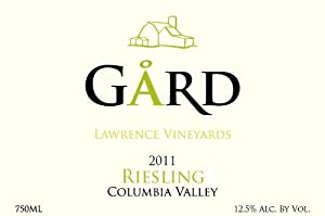 2011 Gard Vintners Columbia Valley Riesling 750 mL