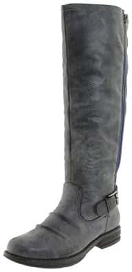 Madden Girl Women's Zandora Boot,Black Paris,6 M US