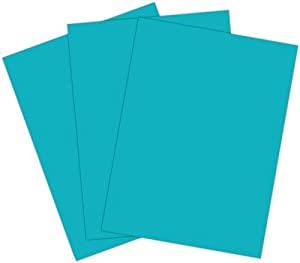 Roselle Vibrant Construction Paper, 50ct, 9 x12 Inches, Blue Green/Turquoise (CON2691250) best price
