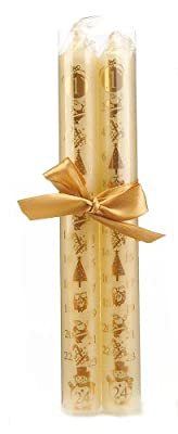 Wax Lyrical Christmas Ivory Advent Baton Candle 2 Pack from Wax Lyrical