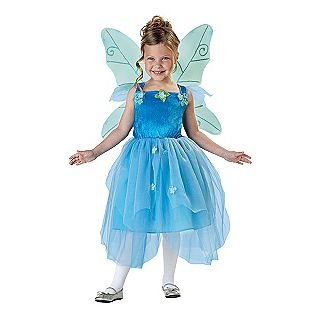 Totally Ghoul Blue Pixie Fairy Halloween Costume Fairy Costume NWT Girls Medium