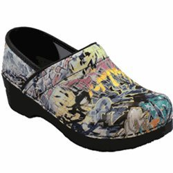 Sanita Professional Graffiti Zoey Clogs (EU 40 (9.5-10 US))