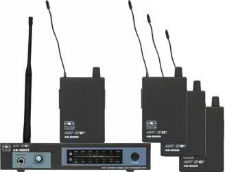 Galaxy AS-900-4 4-Person Wireless In Ear Monitor