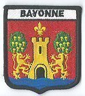 BAYONNE-CUSSON-BROD-FLAG-PaTCH-FRANCE-BADGE-MONDIAL-EXCLUSIF
