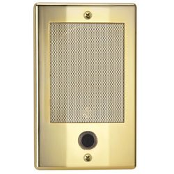 Nutone Ndb300Bb Nm Series Door Speaker - Bright Brass Finish Nutone Intercom