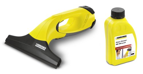 Karcher WV50 Cordless Window Vacuum PLUS Glass Cleaner Concentrate