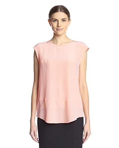 Magaschoni Women's Oversized Signature Silk Top
