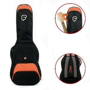 Fusion F1-03GEO Electric Guitar Bag - Black/Orange