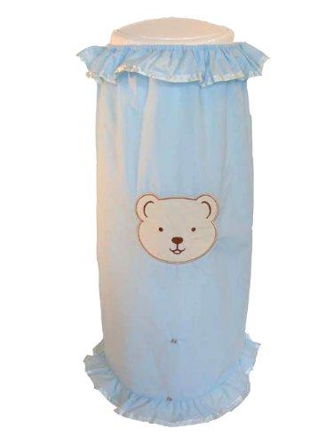 Happy Time Baby Diaper Pail Cover for Diaper Genie Elite Diaper Pail (Blue)